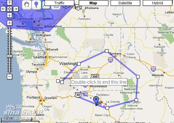 一些非常实用的编辑功能,例如在地图上划线,加标注等-谷歌推出个