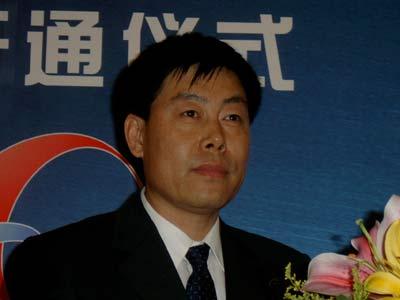 科技时代_图文:李家明在不良信息举报网站开通现场