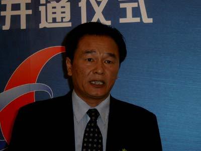 科技时代_图文:国新办副主任蔡名照在网站开通现场