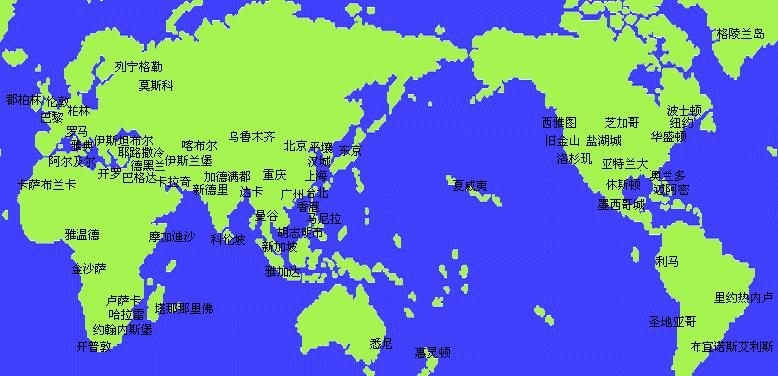 时间_1,上方实时时钟显示的是您的电脑所设的时区和时间.