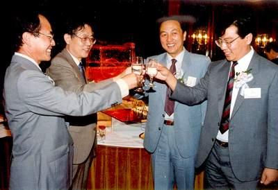 科技时代_老照片:1988年香港联想宣布成立