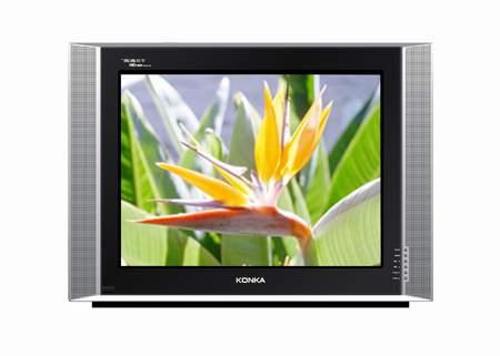 体验未来数字时代高清数字电视-康佳p29mv217