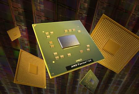 AMD在华正式发布炫龙64位笔记本处理器