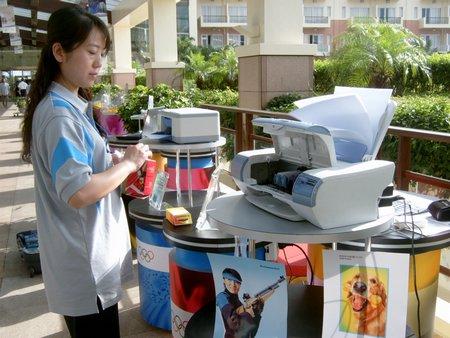 科技时代_现场新品展示:新联想打印机新品