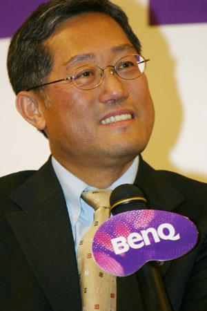 科技时代_明基李�j耀:购西门子手机后首个问题是员工