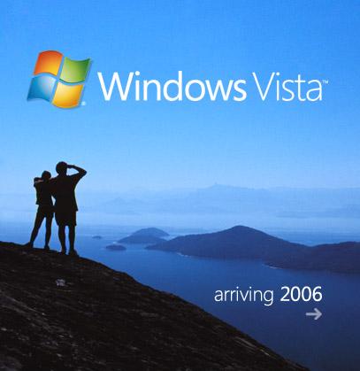 科技时代_微软宣布长角命名为Win Vista 8月发测试版