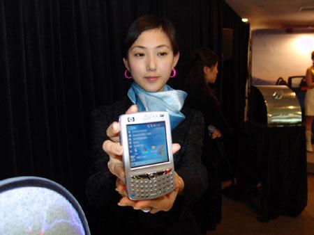 科技时代_图文:HP智能手机 iPAQ GPS hw6515