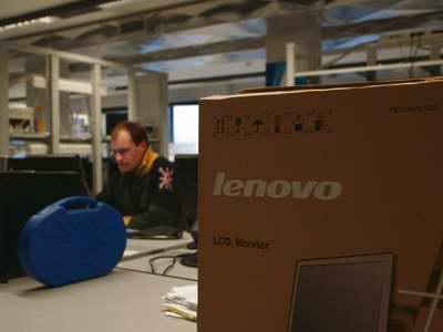 科技时代_图文:联想机器在都灵奥组委主技术中心