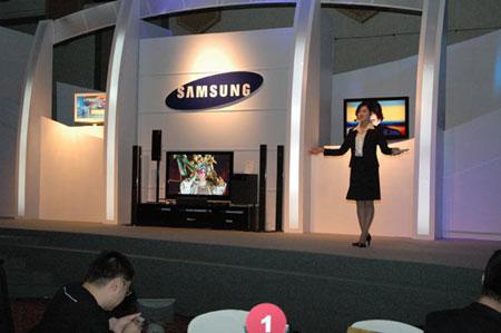科技时代_三星2006年A/V新产品发布会在京隆重举行