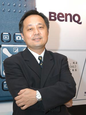 科技时代_明基中国总经理曾文祺做客新浪谈业务整合