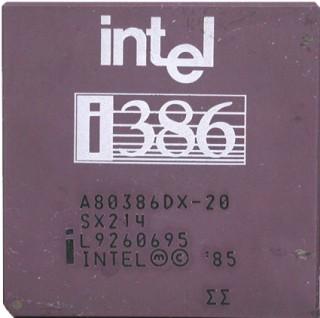 科技时代_英特尔明年停产386处理器 20年经典芯片谢幕