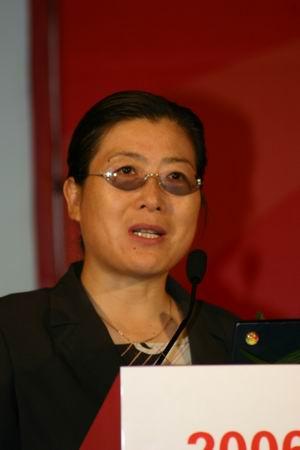 科技时代_图文:东软集团高级副总裁卢朝霞发言