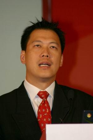 科技时代_图文:CA中国总经理梁添志发表演讲