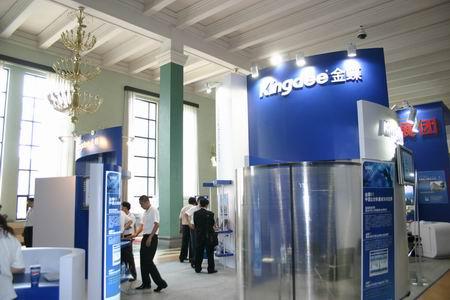 科技时代_图文:软博会参展企业金碟展台