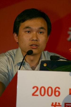 科技时代_图文:民政部陈勇软博会上发表演讲