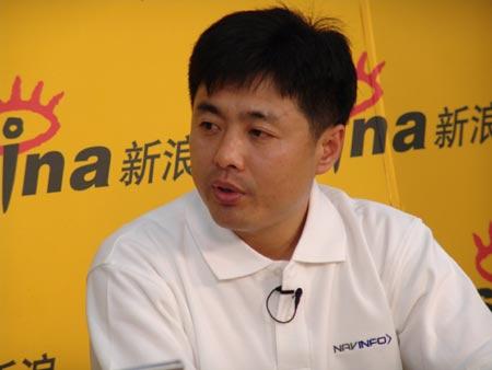 孙玉国做客白银时代:做中国的电子导航巨头
