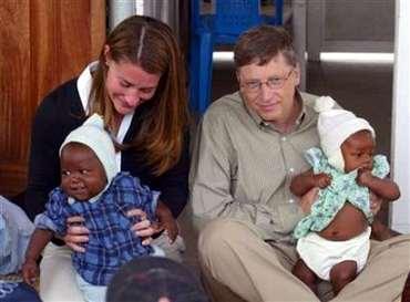 科技时代_盖茨:两年前决定隐退 将带子女去非洲