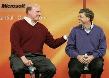 微软CEO鲍尔默2007财年总薪酬130万美元