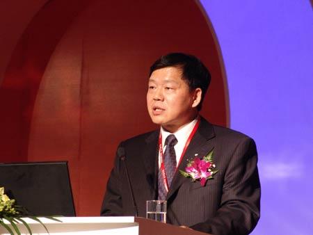 科技时代_图文:信息产业部副部长娄勤俭讲话