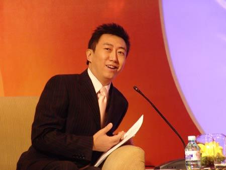 科技时代_图文:CEO年会与总裁对话时段主持人