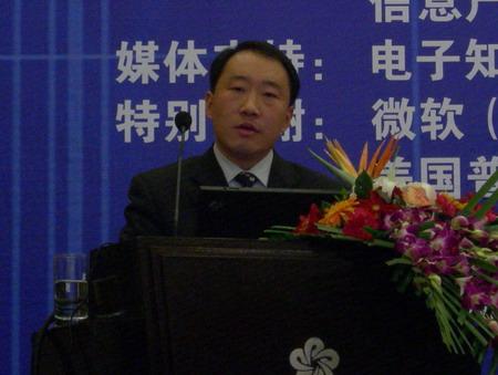科技时代_图文:商务部世界贸易司副处长安佰生