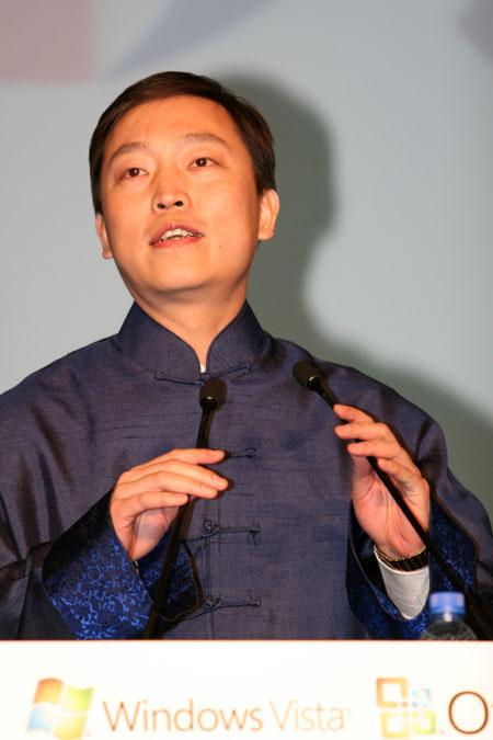 科技时代_图文:清华同方兼计算机系统本部总经理李健航