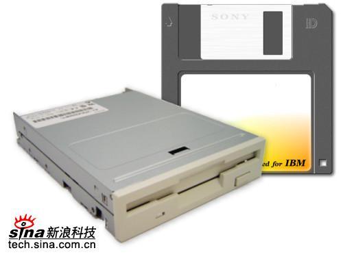 科技时代_电脑卖场停售软驱软盘 40年经典硬件谢幕(图)