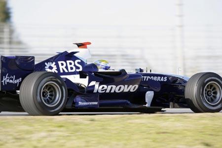 科技时代_联想宣布成为威廉姆斯F1车队顶级赞助商