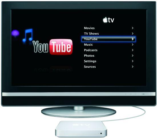 科技时代_当Apple TV碰上YouTube 苹果走进你客厅(图)