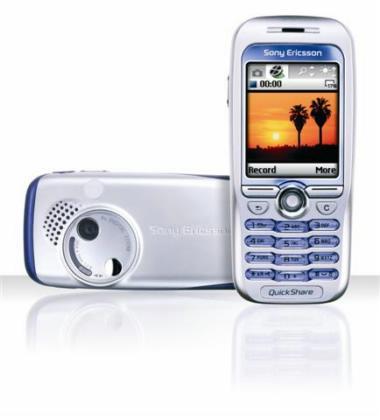 索尼爱立信最新手机F500图片展示