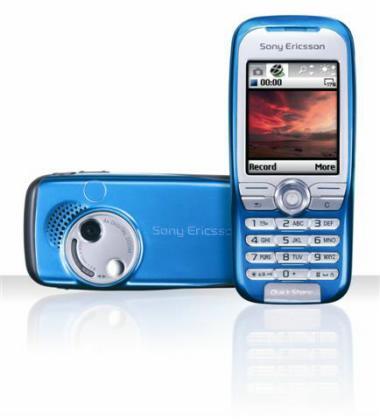 索尼爱立信最新手机K500图片展示
