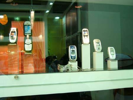 科技时代_海外本土手机齐上阵 LG手机惊艳北京科博会