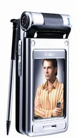 科技时代_海尔智能快客手机亮相CES