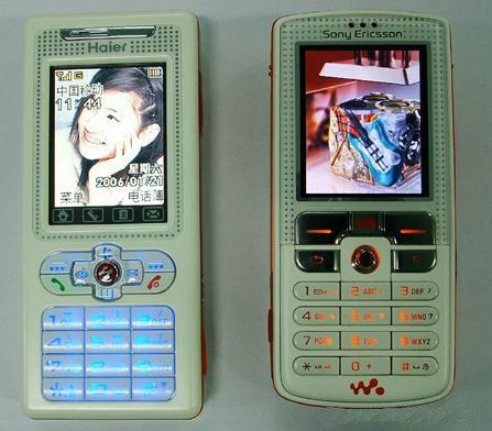 科技时代_一物降一物 海尔M260比拼索爱W800c