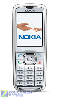 200万像素诺基亚发布直板设计6275手机