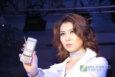 美女、手机、智帅夏新手机模特走秀