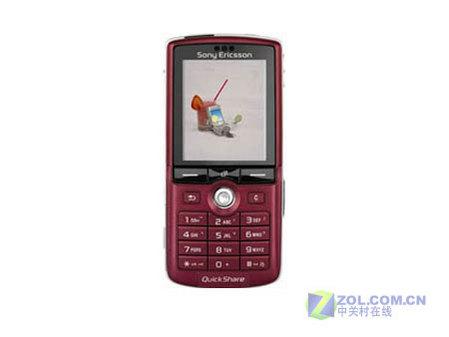 改变颜色诱惑你玫瑰红索爱K750c售价2360