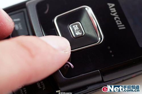 超薄滑盖机三星触碰感应E908详细评测