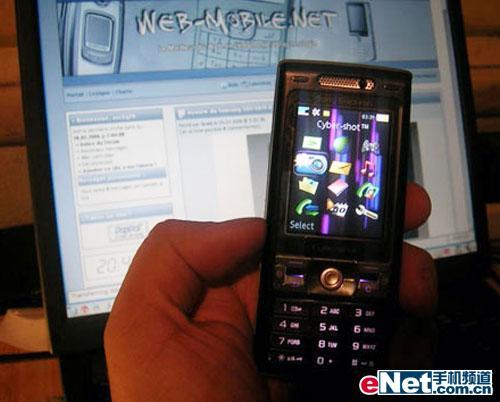 320万像素索爱3G手机K800i跌至3680元