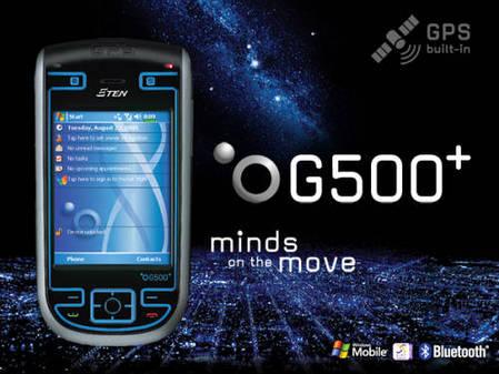 ETEN新款GPS定位PPC智能手机G500
