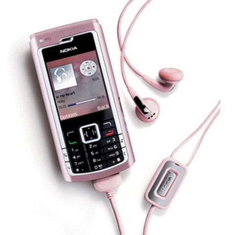 智能强机诺基亚粉色版N72降至3290元