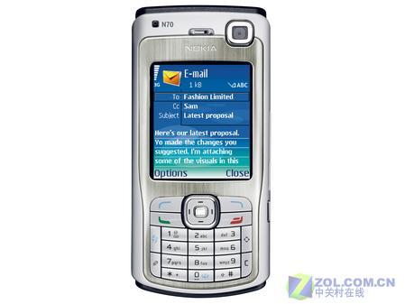 200万像素诺基亚智能手机N70跌至2790