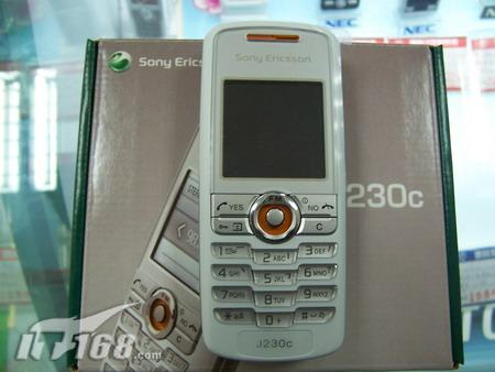 学生伴侣索爱低端直板手机J230c仅售599