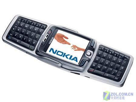 200万像素诺基亚双键盘智能E70降至3480