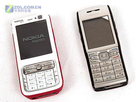 时尚先锋诺基亚S60智能商务手机E50评测