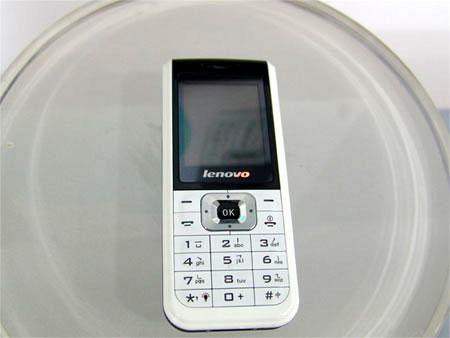 科技时代_联想i360手机展示