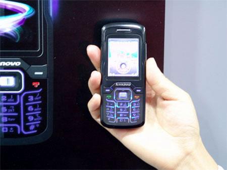科技时代_联想i726手机展示