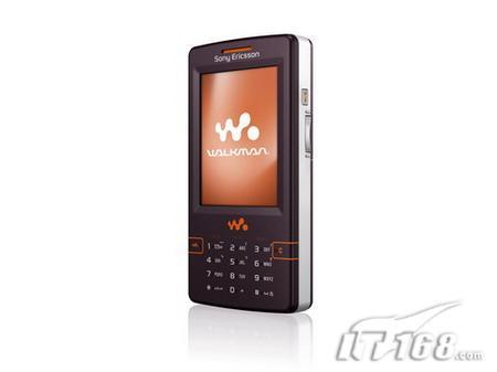 音乐皇帝索爱发布中文版4GB音乐机W958c