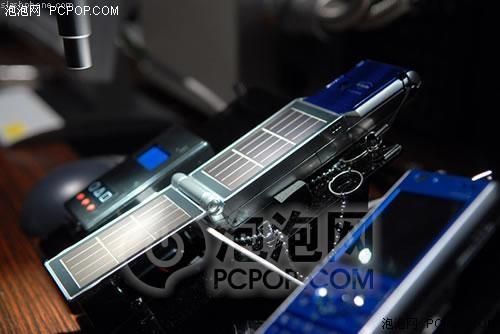摆脱电池束缚最新太阳能手机谍照曝光