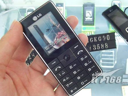 [广州]LG超薄卡片机KG320仅1399元